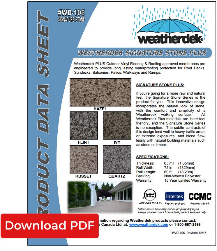 Decking Product Data Sheets Weatherdek